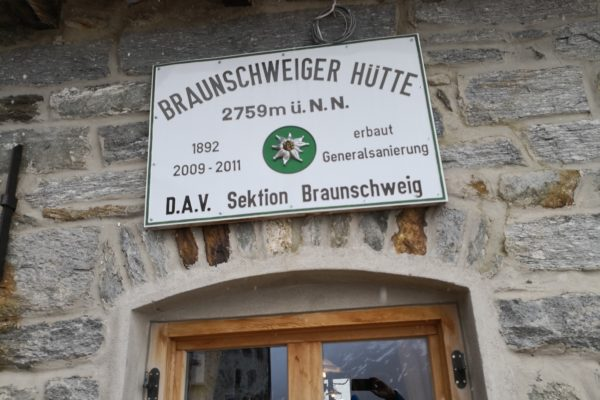 Etappe 4: Venet Gipfelhütte – Braunschweiger Hütte